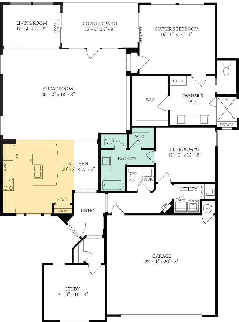 Floorplan for Grinnell Chancellor