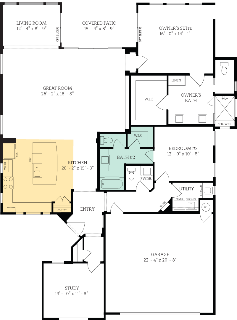 Floorplan for Grinnell Regent