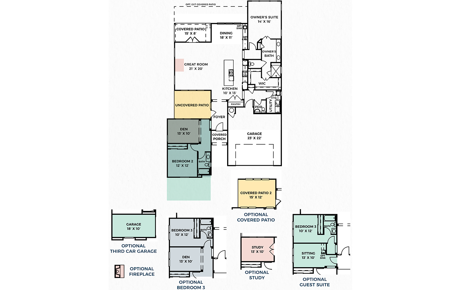 Floorplan for Trinity Chancellor