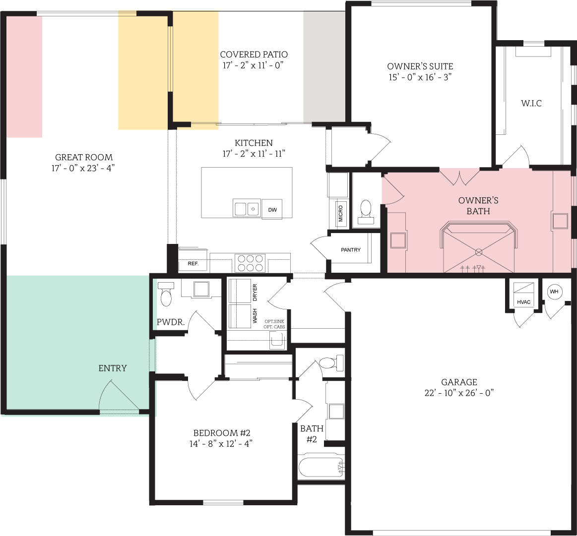 Floorplan for Brandeis Regent