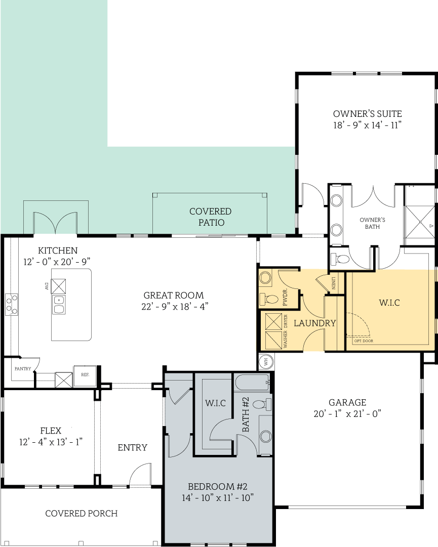 Floorplan for Clarkson Regent